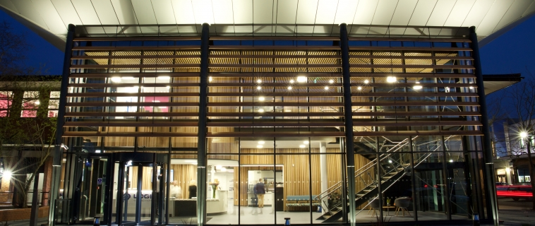 Logic Studio School Open Evening – an amazing building and an amazing place to learn.