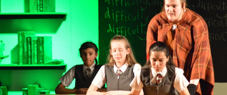 Matilda was performed to a full house over two nights at Springwest Academy