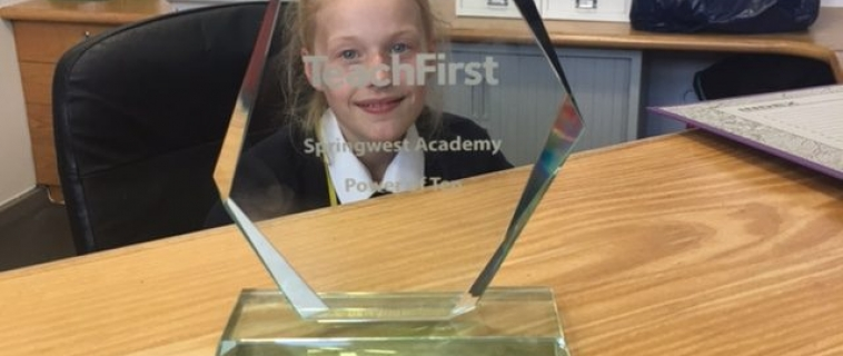 Springwest Receive Teach First Partnership Award