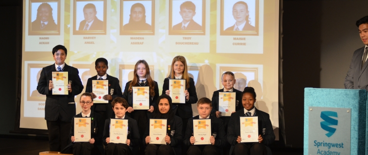 Celebration of Success at Springwest Academy
