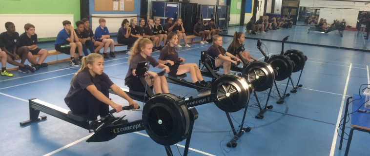 Springwest students excelling at rowing.  Row4Results